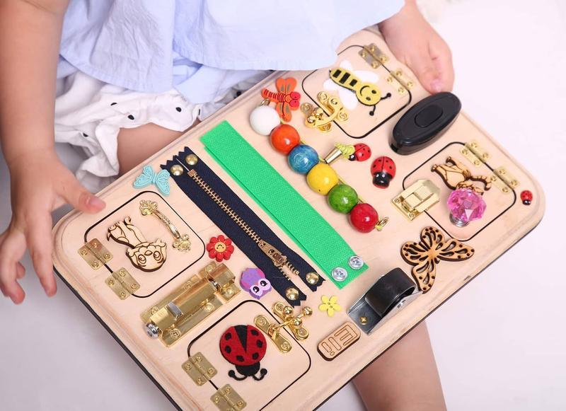 Busy board, Бизиборд для путешествий 20 на 30 см