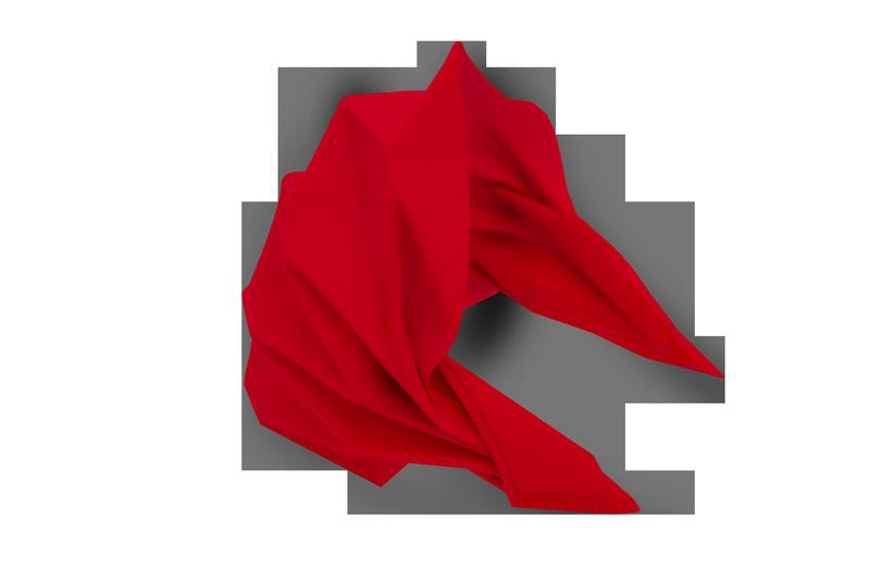Маска для лица WauMask, красная
