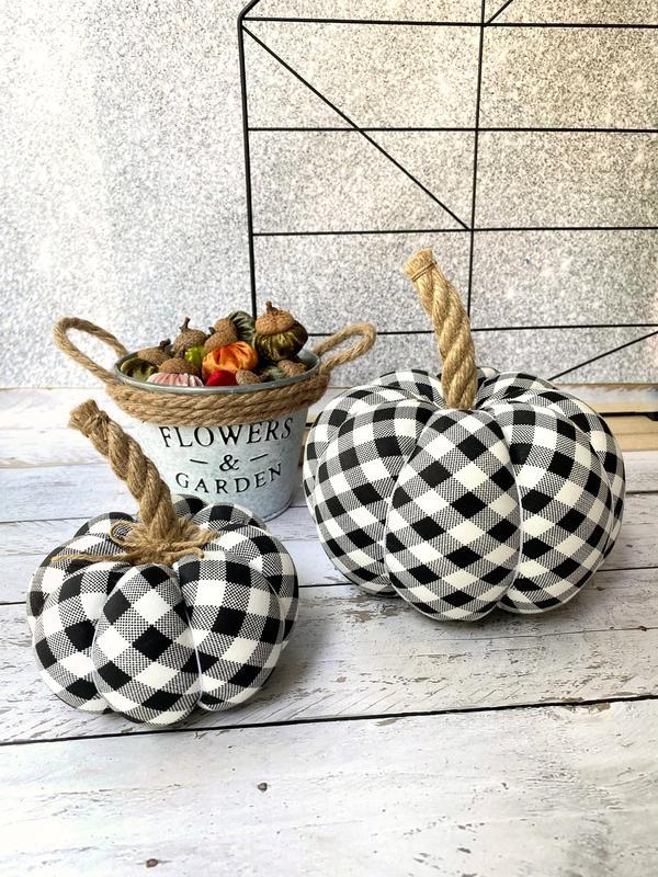 Набор текстильных тыкв, осенний декор для дома, Хэллоуин