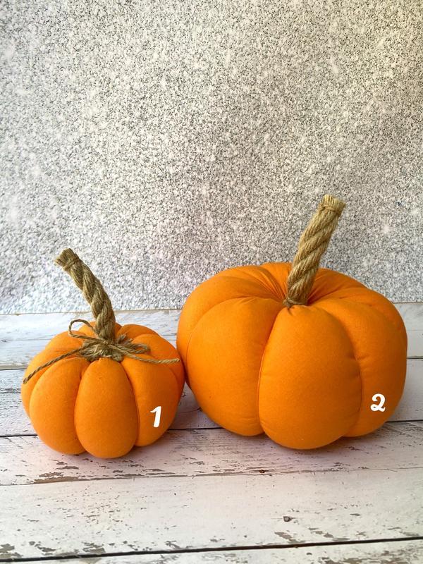 Набор текстильных тыкв, хлопковые тыквы, осенний декор для дома, Хэллоуин
