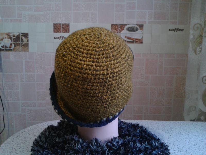 """Эксклюзивная демисезонная шляпка """"Асимметрия"""""""