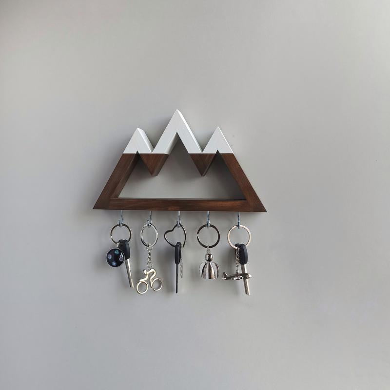 Настенная ключница Big mountains с вершинами