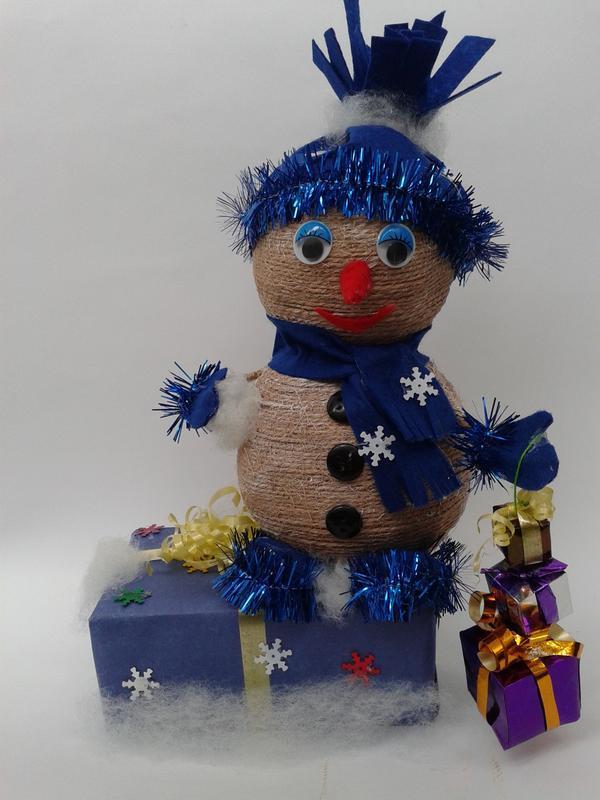 Подарочек-Снеговичок