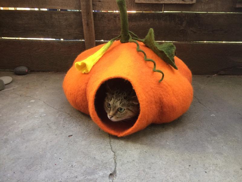 Домик для кошки «Тыковка»