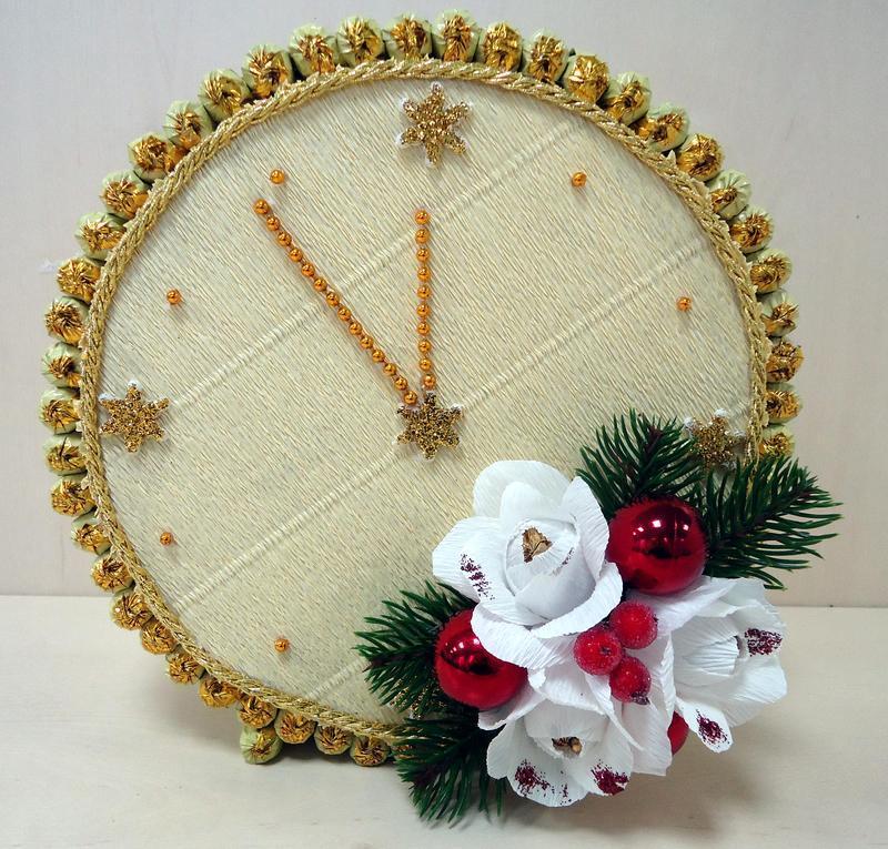 Новогодние часы своими картинки