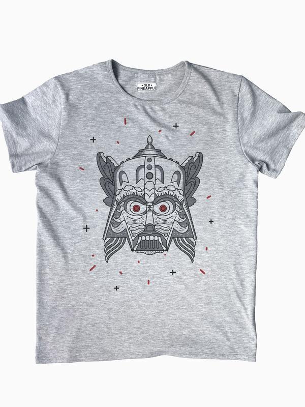 """Мужская футболка с авторским принтом """"Holy Wars"""""""