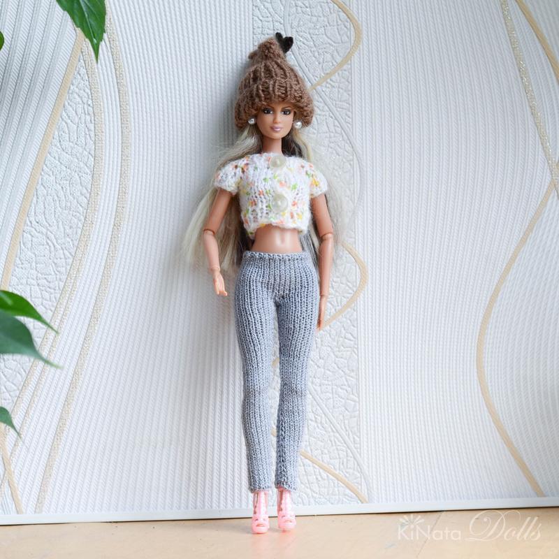 Шапка-трансформер для Барби