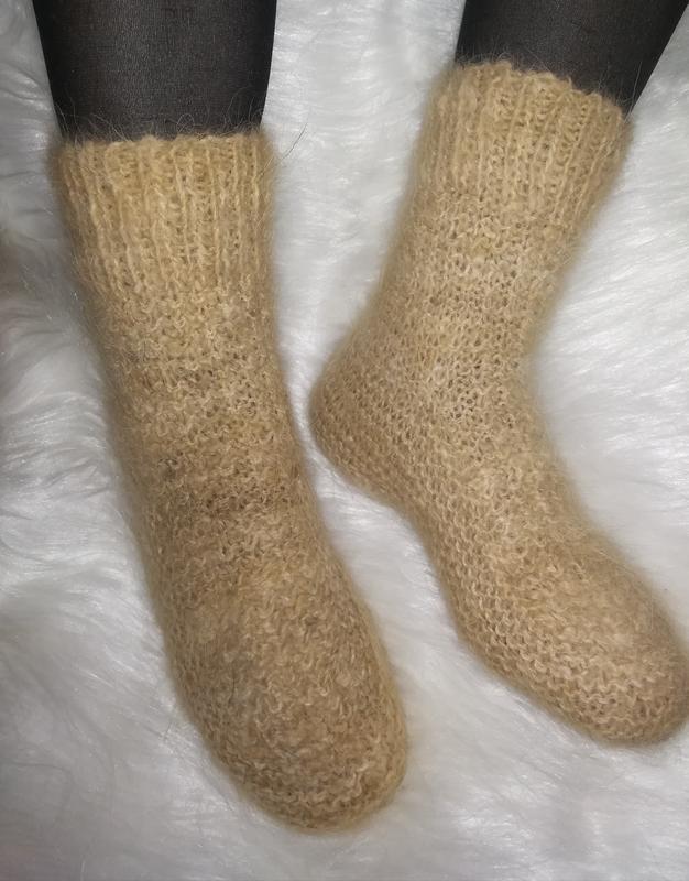 c7c89c4e1e34c Мега носочки из натуральной собачьей шерсти Эко тёплые ручной работы ...