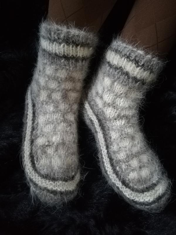 0dc2f6c61fd99 Носки из собачьей шерсти натуральные теплые Эко шерстяные ручной ...