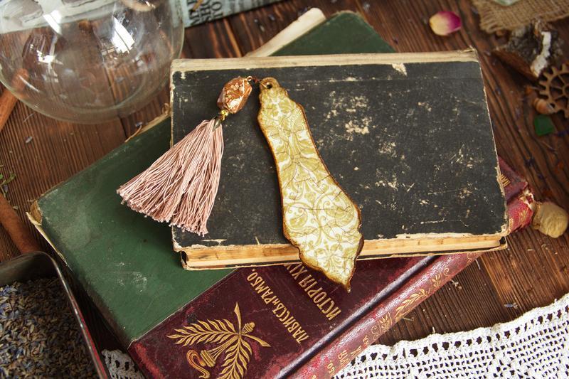 деревянные закладки