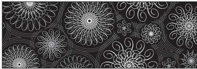 Калька URSUS А4 115г/м Черно-белая Спираль орнаменты черная UR-53984618R