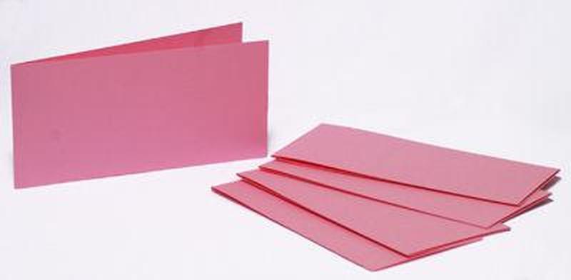 Набор заготовок для открыток 5шт 15,5*15,5см №6 блідо Розовый 220г/м Margo 94099016
