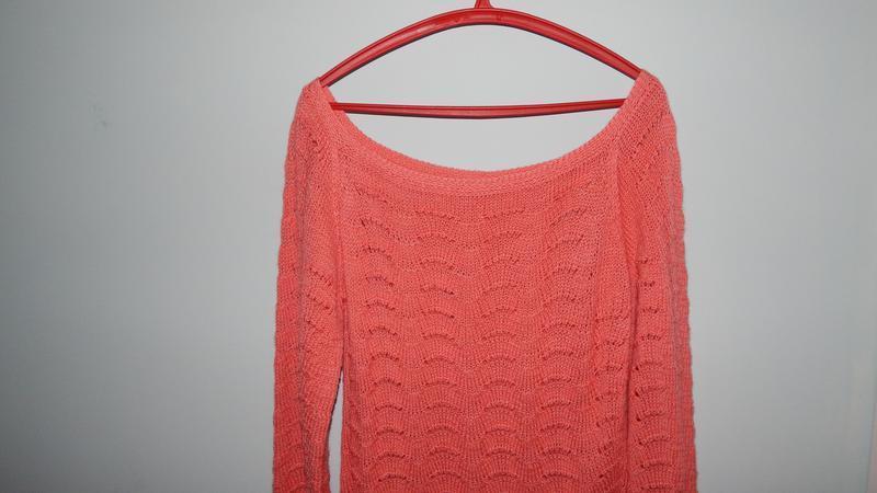 Платье ручной работы с открытыми плечами