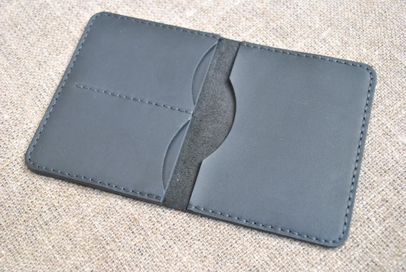 Чехол для водительского удостоверения старого образца из натуральной кожи D11-0