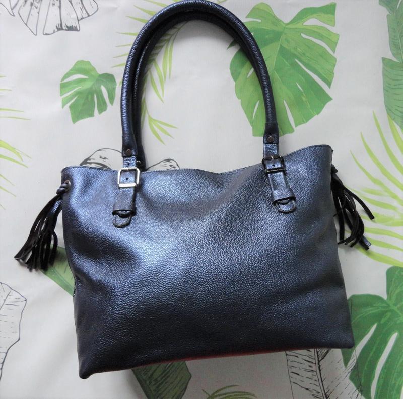 a1f0c206026a Женская кожаная сумка шоппер ручной работы купить в Украине. №171337