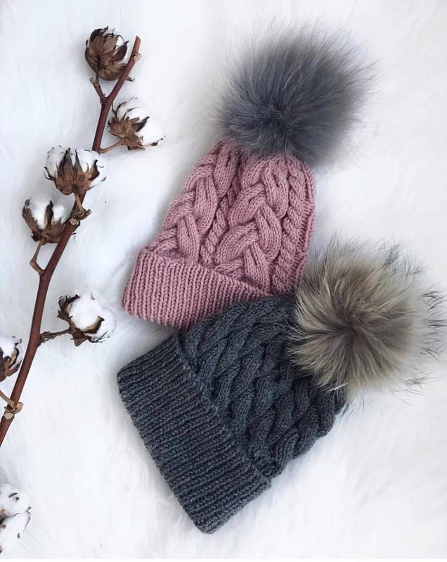 Зимові шапки ручной работы купить в Украине. №171411 0ded32d2baf18