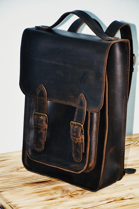 """Кожаный рюкзак """"Фостер"""""""