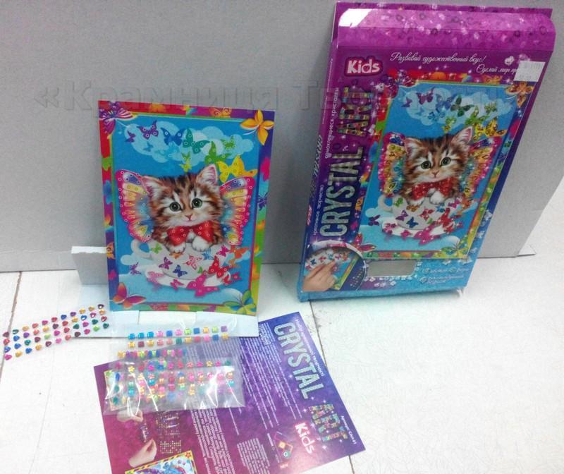 Алмазная мозаика (детская серия) Котик (CArt-01-04)