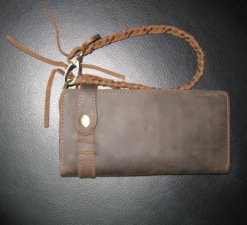 9772342326ca Стильный,модный винтажный мужской клатч-портмоне ручной работы из натуральной  кожи