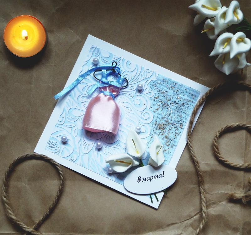 лучшие открытки хэнд мэйд 8 марта бистрі