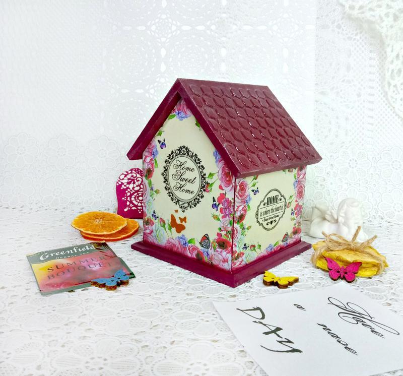 """Чайный домик """"Розовый сад"""""""