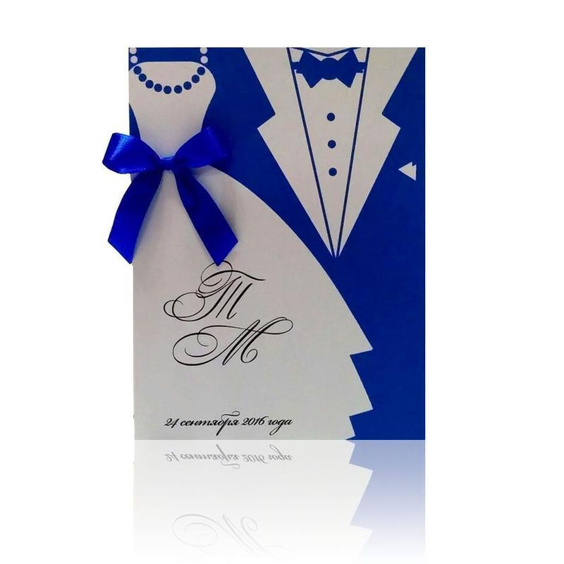 Пригласительные на свадьбу №3