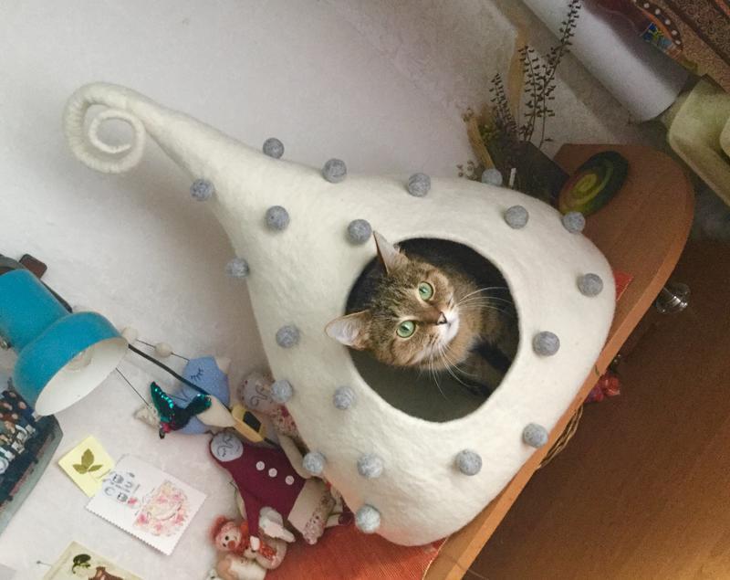 """Домик для кота """"Горошина"""""""