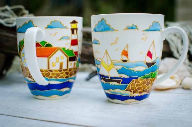 Чашки для чая ′Sea breeze′