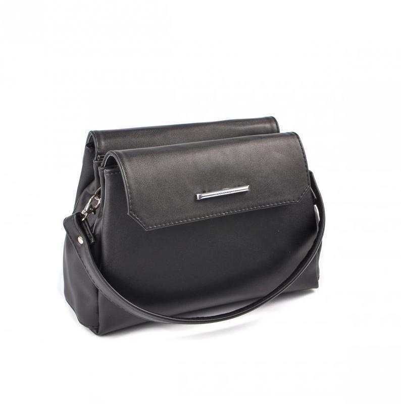 33bf3e39889a Мини-сумочка на плечо Черная ручной работы купить в Украине. №186186