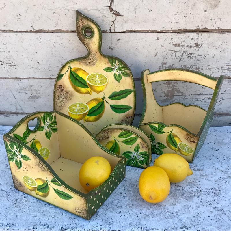 Набор для кухни «Лимончики»
