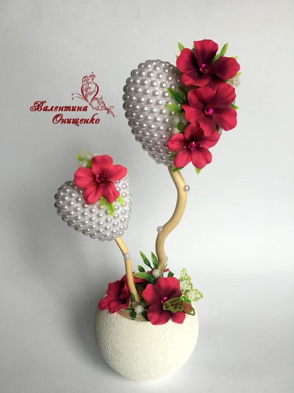 """Топиарий """"Любовь"""" / дерево счастья /  подарок девушке"""