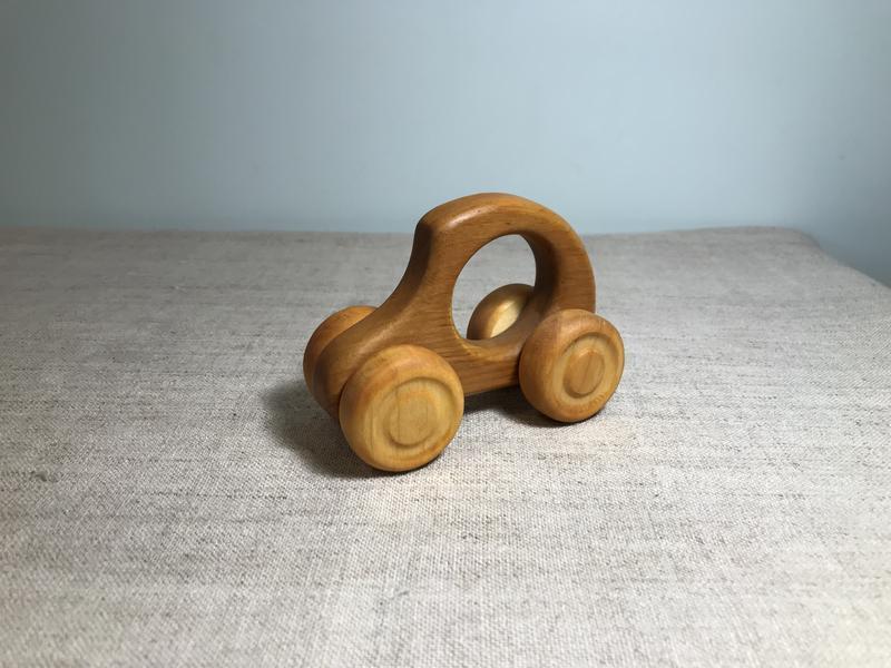 Машинка Джип деревянная