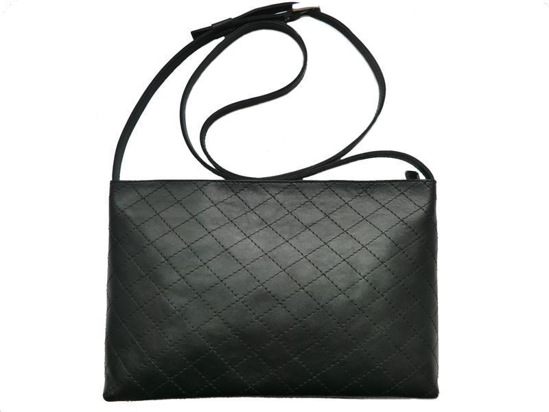 24fd6e10437e Женская черная кожаная сумка ручной работы купить в Украине. №192900