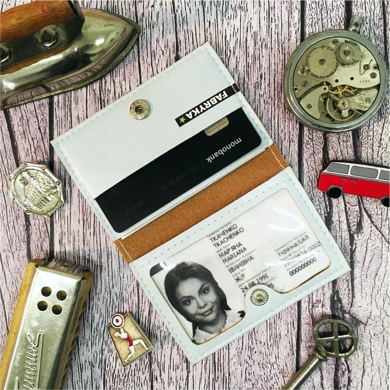 Обложка на ID паспорт, права, банковские карты
