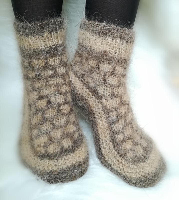 bbbe0ecfc9d11 Носки из собачьей шерсти натуральные теплые шкарпетки шерстяные зимние  вязаные носочки