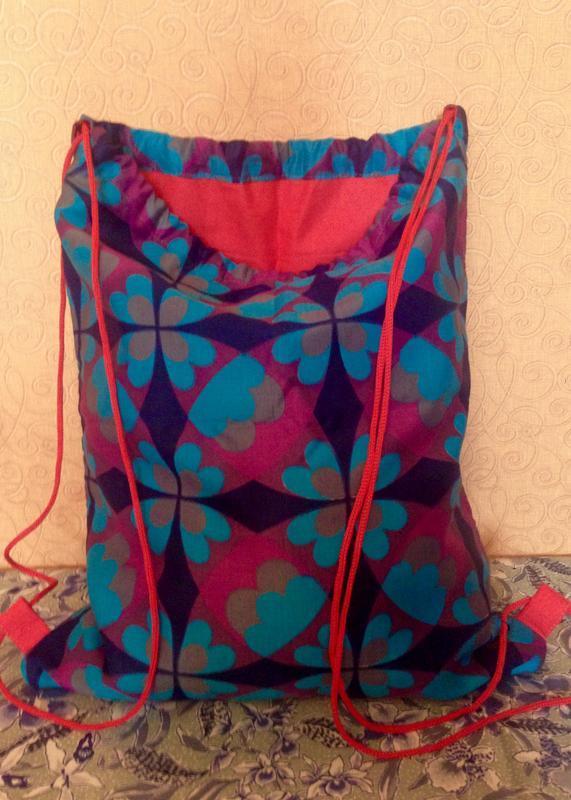 Красочный рюкзак, городской рюкзак, пляжная сумка, сумка мешок