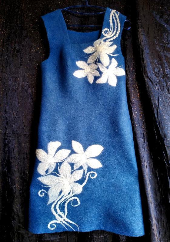 Платье - сарафан Белые лилии