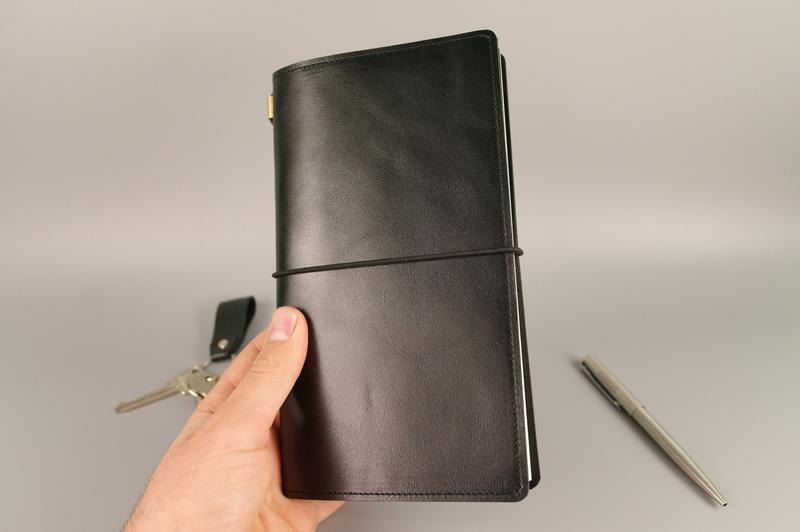 Шкіряний блокнот-щоденник зі змінним блоком