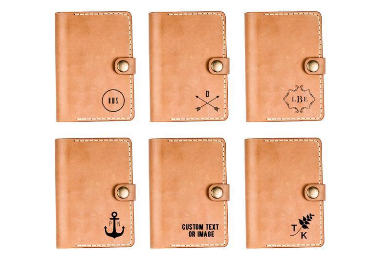 Кожаная обложка на паспорт с картхолдером