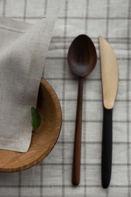 Салфетки кухонные из льна, столові серветки з льону, лляні серветки, текстиль для кухні