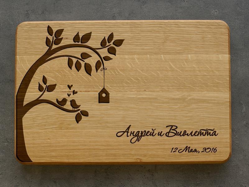Деревянный доска с надписью своими руками