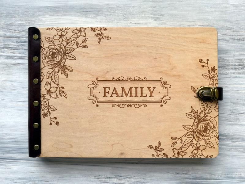 """Альбом для фотографий """"Family"""""""