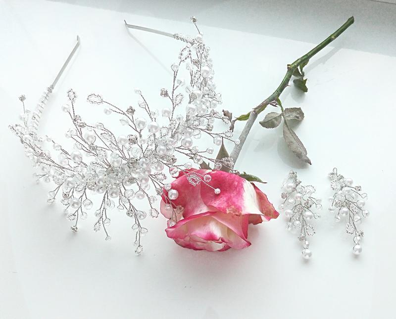 Диадема свадебная, корона, тиара, диадемы для волос, украшения для прически, диадемы на выпускной