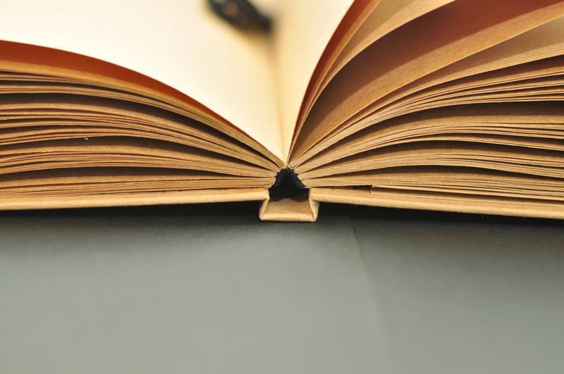 Скетчбук, блокнот с чистыми крафтовыми листами