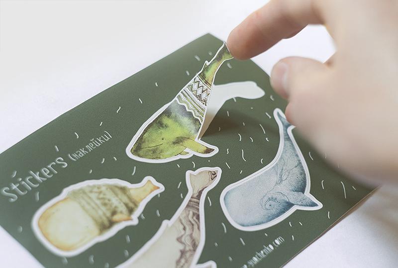 Наклейки, стикеры, стикеры, наклейки (киты, киты).
