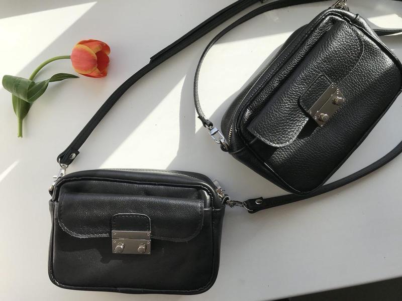 e1512b6ea375 Стильная черная сумка через плечо (натуральная кожа) ручной работы ...