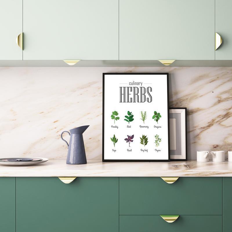 Постеры для кухни на панель
