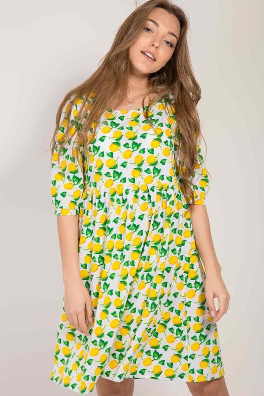 fbde7cad48e Платье с оригинальным принтом ручной работы купить в Украине. №214800