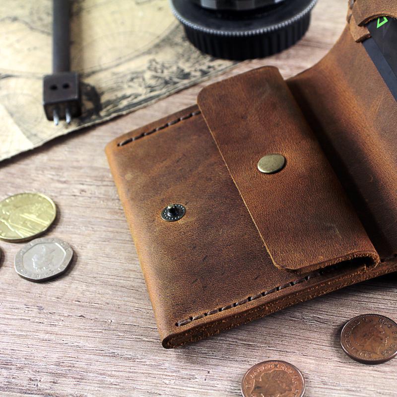 Персоналізований гаманець з гравіюванням на вибір (Зображення, ініціали, логотип) іменний подарунок
