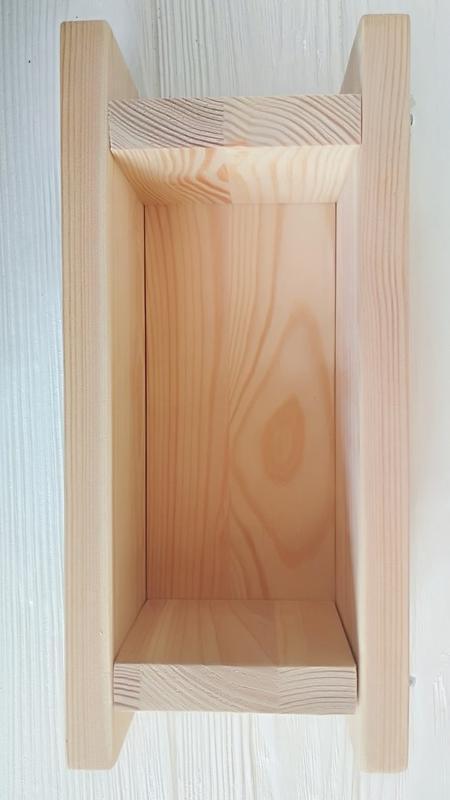 Деревянная форма для мыла с нуля на 1 кг масел
